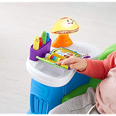 Fisher-Price Song and Story Learning Chair: Toys & Games