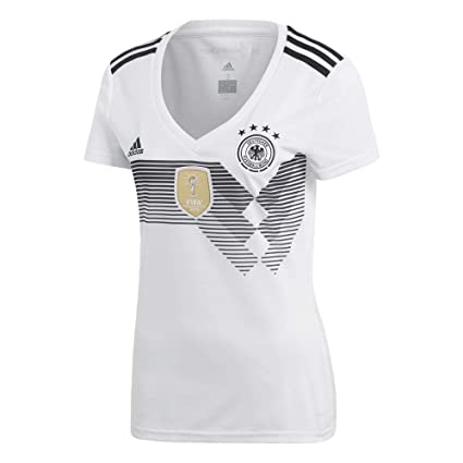badb6bdf1 Amazon.com   adidas Germany Home Womens Jersey 2018 2019   Sports ...
