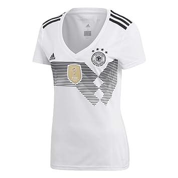 a57de8093cf adidas DFB Home 2018 Women's Jersey, Womens, DFB Home 2018, white/black