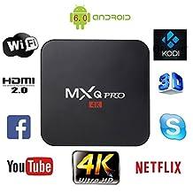 LONGYAO MXQ Pro 4K Android TV Box Quad Core 1GB Android Box 8GB ROM HDMI Smart TV Box Support 3D Wifi H.265 DLNA Youtube Netflix Media Player