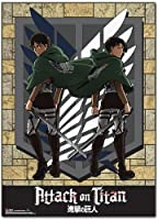 Attack on Titan - Eren and Levi Wall Scroll