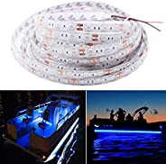 Seapon Marine Led Light Strip for Pontoon Boat Duck Jon Bass Boat Sailboat Kayak, Led Flex Lighting for Boat D