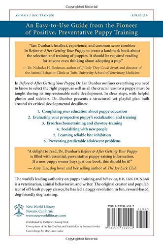 Before and After Getting Your Puppy: The Positive Approach to Raising a Happy, Healthy, and Well-Beh - http://medicalbooks.filipinodoctors.org