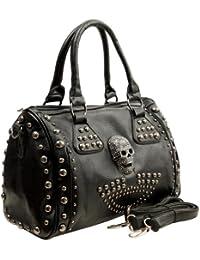 Howea Gothic Studded Doctor Shoulder Bag