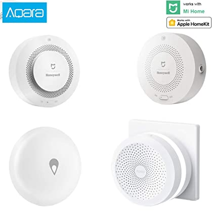 Xiaomi Aqara Smart home Automation Devices Home Security Kit Modules for  Kitchen (Kitchen Security Home Kit2)