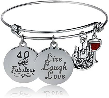 YeeQin Birthday Bangles Charms Bracelets