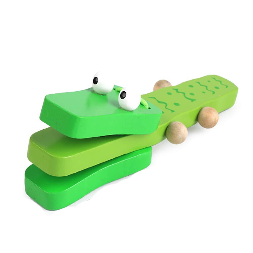 Bella grande regalo cartone animato nacchere bambini musica prima infanzia strumenti musicali musicale Puzzle Board (coccodrillo) Hilai
