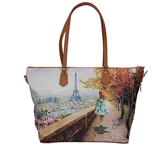 YNOT? J-397 Shopping Bag Donna multicolor