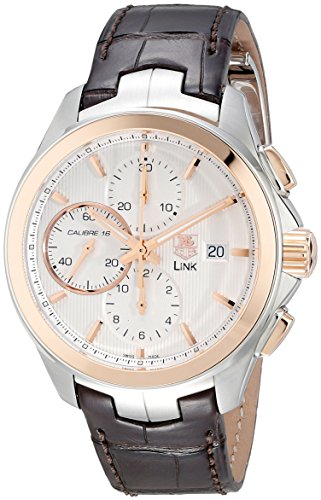 TAG Heuer Men's CAT2050.FC6322 Analog Display Swiss Automatic Brown Watch