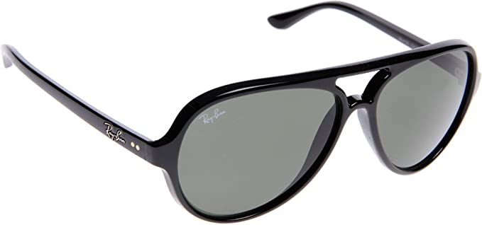 19090b3f6 Amazon.com: Ray-Ban RB4125 Cats 5000 Oversized Sunglasses: Clothing