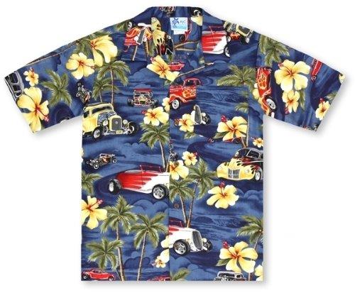 RJC Boys Hot Rod Palms Hawaiian Shirt