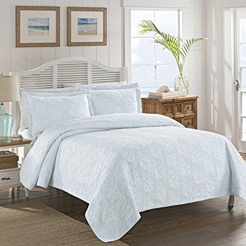 LaMont Home LBCV0130140 Sanibel Isle Full/Queen Coverlet, Blue