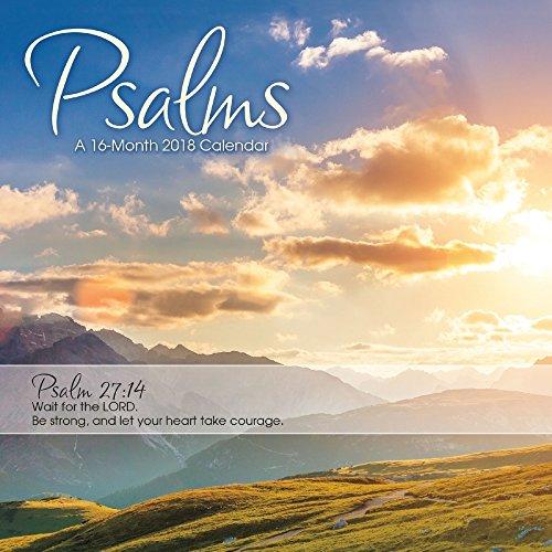 Psalms 2018 Mini Calendar