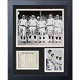 Legends Never Die 1927 New York Yankees Murderer's Row Framed Photo Collage, 11x14-Inch