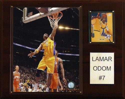 NBA Lamar Odom Los Angeles Lakers Player Plaque