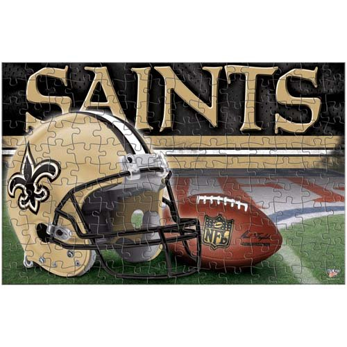 WinCraft NFL New Orleans Saints Puzzle in Box (150 Piece)