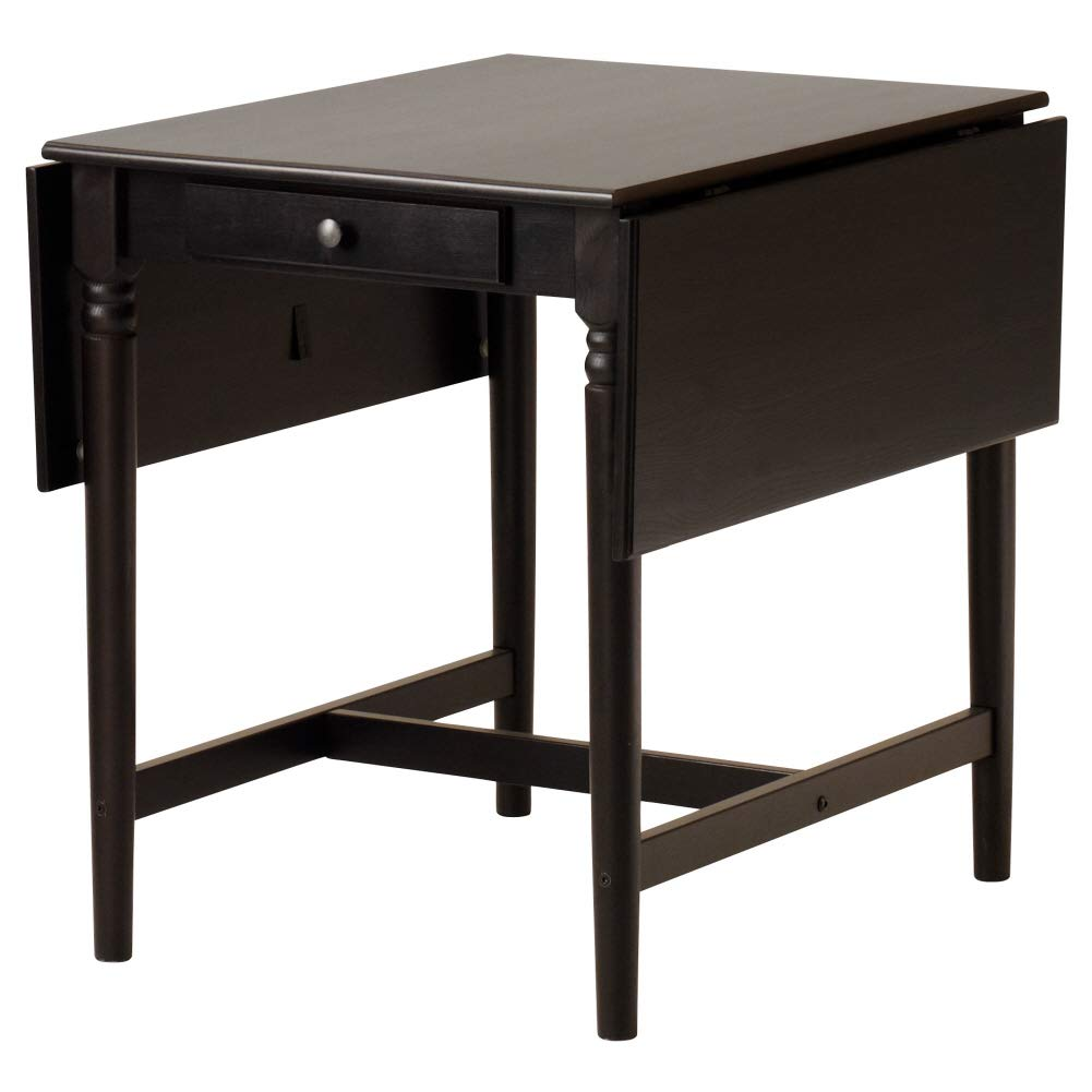 Ikea INGATORP,Drop-leaf table, black-brown by IKEA