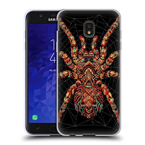 Official Bioworkz Ornate Spider Coloured Venom Soft Gel Case for Samsung Galaxy J7 ()