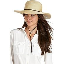 Coolibar UPF 50+ Women's SmartStraw Sedona Sun Hat - Sun Protective
