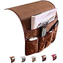 PUTING Space Saver Sofa Couch Chair Armrest Organizer, Fits for Phone, Book, Magazines, TV Remote Control