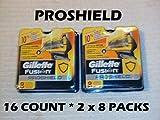 Gillette Proshield - 16 Count ( 2 x 8 Packs)
