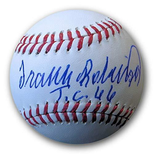 (Frank Robinson Autographed Signed MLB Baseball Tc 66 Orioles JSA Wp041793 - Authentic Memorabilia)