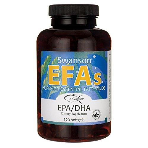 Swanson Ecomega Epa/Dha Fish Oil 180/120 Milligrams 120 Sgel