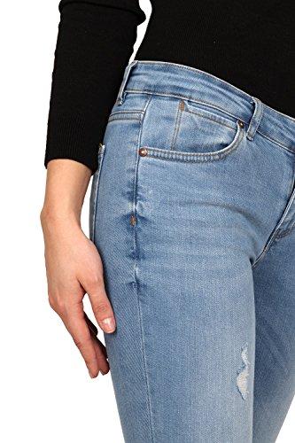 Claro Skinny Azul Rogen para Mujer Pild LB007 Vaqueros HPqwzwfx0