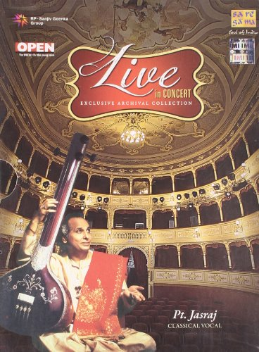 Live In Concert - Pt. Jasraj (Exclusive Archival Collection / Hindustani Classical Vocal / 2-CD Set) by SAREGAMA