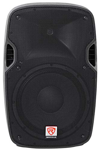 Rockville SPGN128 12 Inches Passive 1200W DJ PA Speaker ABS