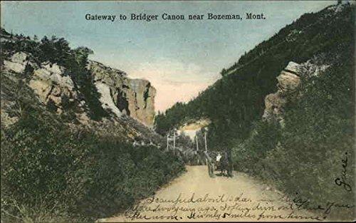 Gateway to Bridger Canon Bozeman, Montana Original Vintage - Stores Bozeman