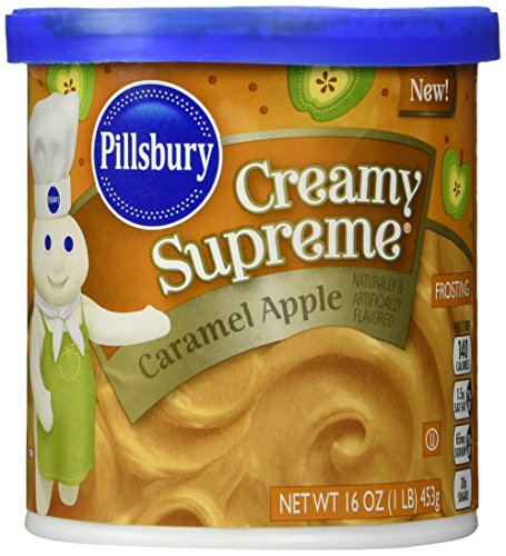 Supreme Frosting (Pillsbury Creamy Supreme Flavored Frosting, Caramel Apple, 16 Ounce)