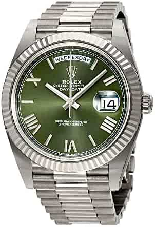 311f6f5f5db Rolex Day-Date Automatic 18 Carat White Gold President Mens Watch  228239GNSRP