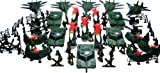 150pc Army Men Toy Soldiers Play Set & Missiles Tanks Jets