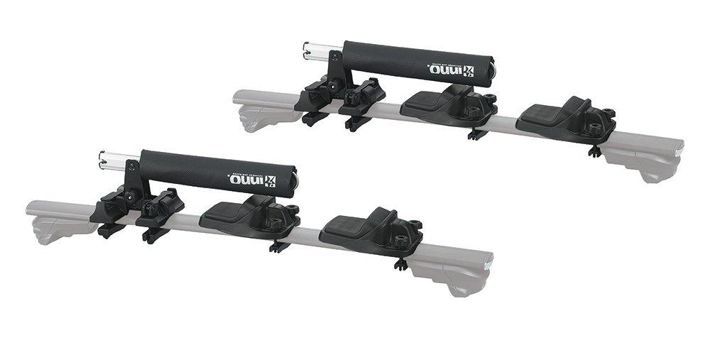INNO INA455 Easy Mount Foldable (2) Kayak Carrier (Black)