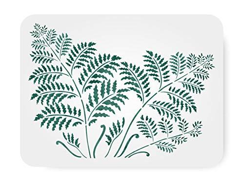 Tree Fern Stencil - (Size 14.5