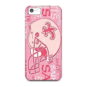 Rosesea Custom Personalized Iphone 5c Covers Cases - Eco-friendly Packaging new Orleans Saints