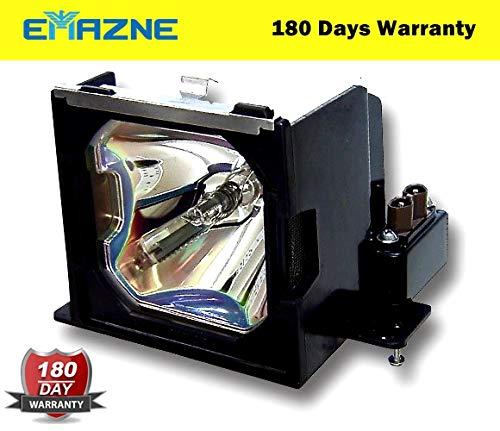 Emazne POA-LMP67/2481B001/LVLP17/610-306-5977/ET-SLMP67 Projector Replacement Compatible Lamp with Housing for Boxlight MP-45t Canon LV 7555F Canon LV 7555 Christie Vivid LX37 Vivid LX45