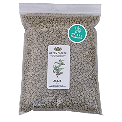 2lb Green Unroasted Coffee Brazil Acaia - From our family farm