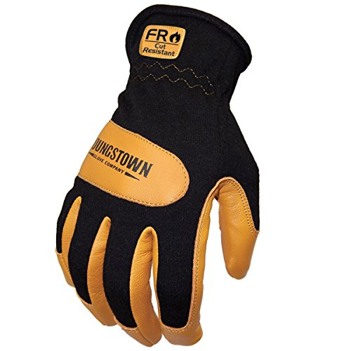 (Youngstown Glove 12-3270-80-XL Flame Resistant Mechanics Hybrid Gloves, X-Large)