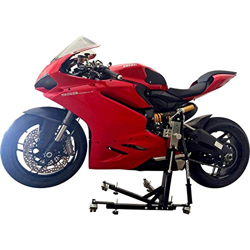 SV Racing Parts for Ducati Panigale 899 Models Black Custom Paddock Style Hydraulic Side Lift Stand