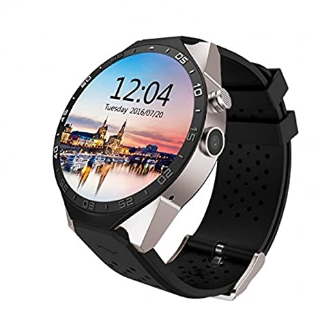 Amazon.com: Time Owner KW88 WiFi Smart Watch Android 5.1 OS ...