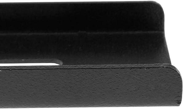 Barras de fijaci/ón reforzadas de 25cm PrimeMatik Kit de Montaje de buz/ón a verja reja Valla o cercado