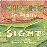 Hiding in Plain Sight, Harcourt School Publishers Staff, 0153078928
