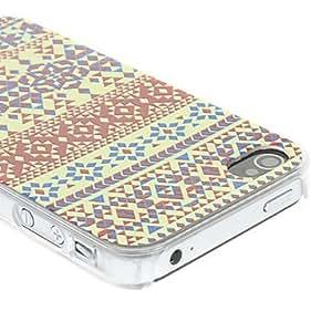 TY-Tinta china y Wash Painting Pattern Mate Diseñado estuche rígido de la PC para el iPhone 4/4S