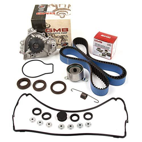 (Evergreen TBK184HPSVC Race Series Timing Belt Kit GMB Water Pump Valve Cover Fit 90-95 Acura Integra B18A1 B18B1)