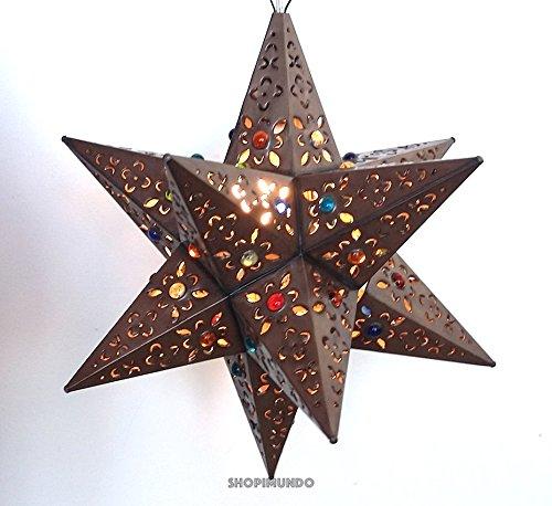 Tin Star Pendant Light in Florida - 1