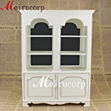 Doll 1/6 Scale Miniature Furniture Elegant White Well Made Gorgeous Cabinet