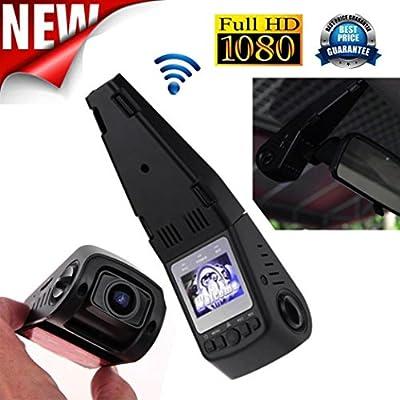 SpyGear-1080P Full HD Mini Car Dash Camera, Swizze 170 Degree Wide Angle Video DVR Cam Recorder Night Vision G-sensor,Loop Recording Camera Camcorders - Swizze
