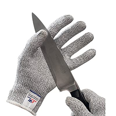 Armour Wear Cut Resistant Gloves - High Performance Level 5 Cut Protection, Food Grade.